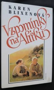 náhled knihy - Vzpomínky na Afriku