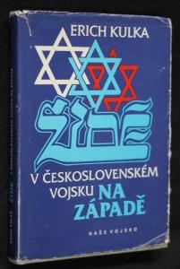 náhled knihy - Židé v československém vojsku na Západě