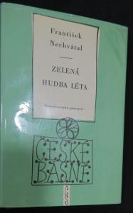 náhled knihy - Zelená hudba léta (České básně svazek 192)