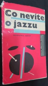náhled knihy - Co nevíte o jazzu