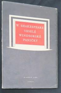 náhled knihy - Veselé windsorské paničky : Komedie