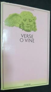 náhled knihy - Verše o víně (Prémie antické knihovny 1969)