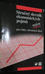 náhled knihy - Stručný slovník ekonomických pojmů nejen pro žáky středních škol