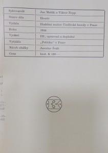 antikvární kniha Housle : dějiny vývoje houslí, houslařství a hry houslové : methodika, 1944