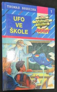 náhled knihy - Ufo ve škole (vítejte v detektivní kanceláři Junior)