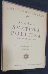 náhled knihy - Světová politika v letech 1871-1914 IV. : Mezi haagskou a algeciraskou konferencí
