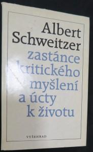 náhled knihy - Albert Schweitzer : zastánce kritického myšlení a úcty k životu Albert Schweitzer