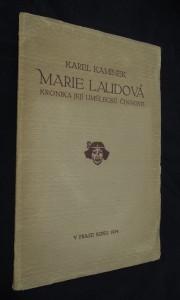 náhled knihy - Marie Laudová : kronika a její umělecké činnosti