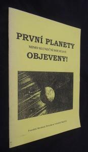náhled knihy - První planety mimo sluneční soustavu objeveny!