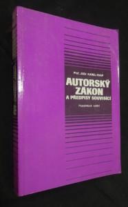 náhled knihy - Autorský zákon a předpisy souvisící : [aktualizovaný text k 1. 1. 1993]
