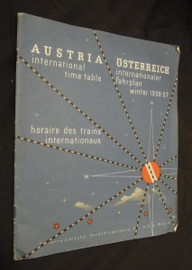 náhled knihy - Austria : international time table