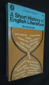 náhled knihy - A Short History of English Literature
