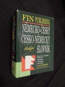 náhled knihy - Německo-Český Česko-Něměcký studijní slovník