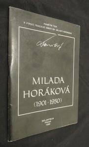 náhled knihy - Milada Horáková : pamětní tisk k 40. výročí tragické smrti dr. Milady Horákové