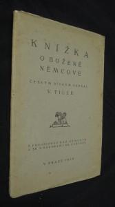 náhled knihy - Knížka o Boženě Němcové