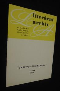 náhled knihy - Literární archív : Ignác Vojtěch Ullmann