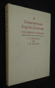 náhled knihy - A comprehensive english grammar for foreign students