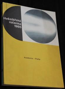 náhled knihy - Hvězdářská ročenka 1985