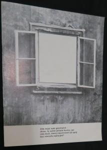 náhled knihy - Katalog k výstavě: Motiv okna v díle deseti současných českých výtvarných umělců (Galerie umění Karlovy Vary)
