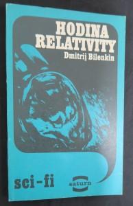 náhled knihy - Hodina relativity (Edice Saturn svazek 158)