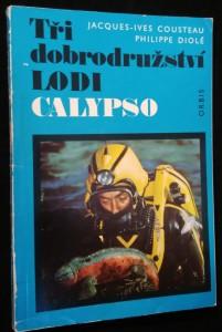náhled knihy - Tři dobrodružství lodi Calypso