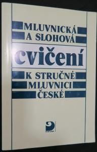 náhled knihy - Mluvnická a slohová cvičení k stručné mluvnici české