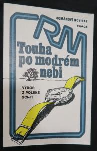 náhled knihy - Touha po modrém nebi : Výbor z polské sci-fi