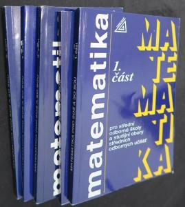 náhled knihy - Matematika pro střední odborné školy a studijní obory středních odborných škol (6 dílů)