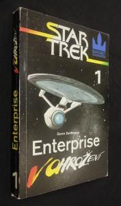 náhled knihy - Star Trek 1 : Enterprise v ohrožení
