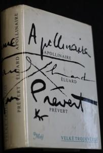 náhled knihy - Velké trojhvězdí : Apollinair, Éluard, Prévert : (výbor z díla)