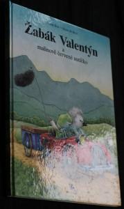 náhled knihy - Žabák Valentýn a malinově červené autíčko