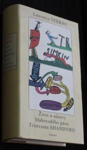 náhled knihy - Život a názory blahorodého pana Tristrama Shandyho