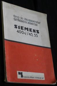 náhled knihy - Úvod do programování ústředních jednotek : Siemens 4004/45 a 4004/55