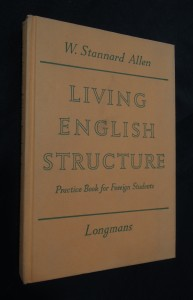 náhled knihy - Living English Structure : Practice Book for Foreihn Students