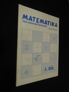 náhled knihy - Matematika pro obchodní akademie