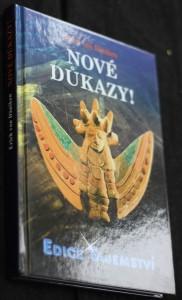 náhled knihy - Nové důkazy! : o nejnemožnější knize světa, Henochových kouzelných zahradách a utajené kovové knihovně