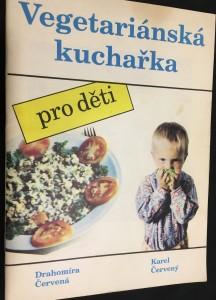 náhled knihy - Vegetariánská kuchařka pro děti