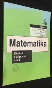 náhled knihy - Matematika : kladná a záporná čísla