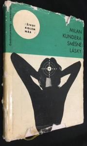 náhled knihy - Směšné lásky : 3 melancholické anekdoty