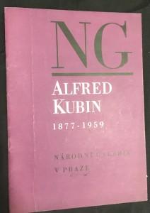náhled knihy - Alfred Kubin 1877 - 1959