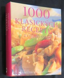 náhled knihy - 1000 klasických receptů z celého světa