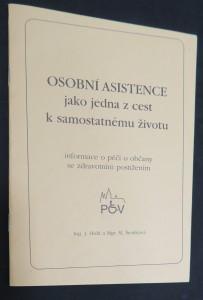 náhled knihy - Osobní asistence jako jedna z cest samostatnému životu