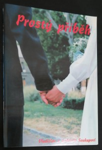 náhled knihy - Prostý příběh (včetně podpisu autorů)