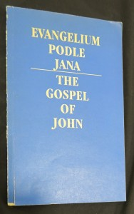 náhled knihy - Evangelium podle Jana: The Gospel of John
