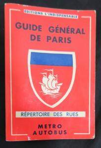 náhled knihy - Guide général de Paris: Répertoire de rues