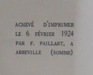 antikvární kniha L´Homme de cour, 1924