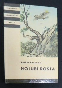 náhled knihy - Holubí pošta