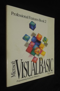 náhled knihy - Microsoft Visual Basic : Programing System for Windows - Professional Features Book 2 (Version 3.0)