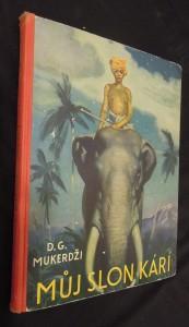náhled knihy - Můj slon Kárí