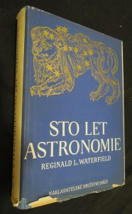 náhled knihy - Sto let astronomie
